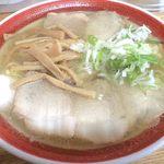 のんきや - チャーシュー麺(塩);ケータイカメラにて画質御容赦m(_ _)m @2008/07/12