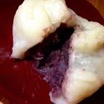 甘味茶蔵 真盛堂 - お饅頭とは違った皮の食感が楽しい♪