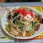 らーめん太郎 - 五目固焼きそば麺大盛り