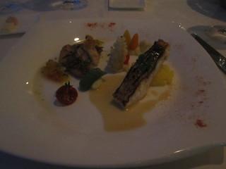 トップ オブ ヨコハマ 鉄板焼&ダイニング - メバルと真鯛