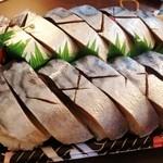 花押 - 鯖寿司