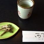 38748867 - 鮎の若炊きとお茶★