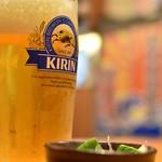 さかなや道場 三代目網元 - ドリンク写真:1杯目の生大¥620(泡が消えるまで待ってカサを増します(涙)。)