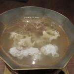 38750056 - 穴子鍋ーお好みの煮加減でー