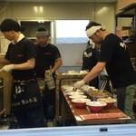 ちばき屋 - 札幌ラーメンショーのブース