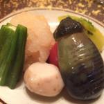 たつのや - 野菜の炊き合わせ