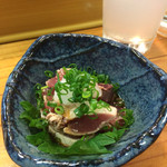 富士鮨 - カツオのたたき
