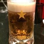 38757765 - とりあえずのビール~!
