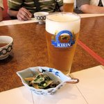 NOBU - 生ビール2015.06.06