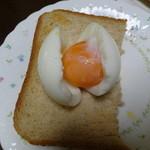 長生たまご館 - 料理写真:アローカナの半熟玉子