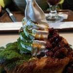サンマルクカフェ - デニブラン和風アズキ