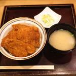 新潟カツ丼 タレカツ - ヒレかつ丼 のセット (2015/05)
