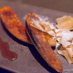 ビストロガストロス - バナナのキャラメリゼ 塩キャラメルのソース【2015年6月】