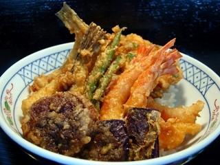 天ぷら ひろみ - -おすすめの天丼-≪小津丼≫