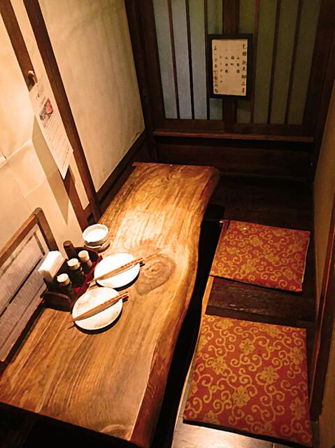 越後屋八十吉 - ●シミュレーション▶︎【4】2階席は個室になっています。個室雰囲気はかなりいいで〜す☆