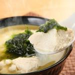 百年古家 大家 - やわしい味わい。ふわふわのゆし豆腐。