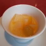 38765370 - デザートの杏仁豆腐