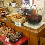 地雷也 - 料理写真:地雷也自慢の雷煮 特に1本200円の豚ヒレ味噌串カツはおすすめ