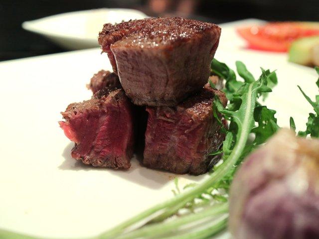 鉄板焼レストラン オーク - 常陸牛フィレステーキ