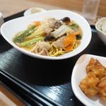 藍菜 - 料理写真:やきそばセット