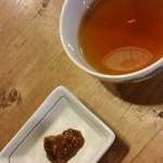 38768552 - フキ味噌とそば茶