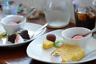 cafe de BoCCo - ランチデザート三種盛り♪