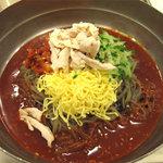 ビビン亭 ゆめタウン久留米店 - ちょっと??なのは、アタシが頼んだビビン冷麺730円。