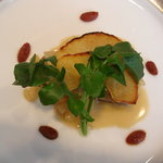 3877627 - 桃豚と平鹿りんごのミルフィーユ仕立てシードルソース