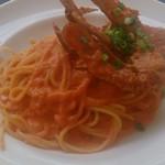 38771057 - 渡り蟹のトマトクリームスパゲッティ
