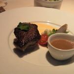 レスポワール・ドゥ・カフェ - 牛フィレ肉のステーキ