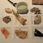 レスポワール・ドゥ・カフェ - 前菜9種盛り