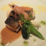 レスポワール・ドゥ・カフェ - 鮭と白身魚のポワレ