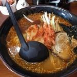 敬三 - 料理写真:さむらい麺 大盛 ¥950