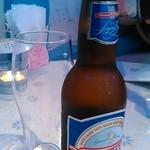 スパルタ - ギリシャのビール、ベルギーナは飲み口キリリ。 料理にあう。