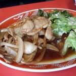38774015 - 焼肉定食セット ラーメン付