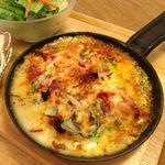 クックコープカフェ - リコッタチーズとスペルト小麦のラザニア
