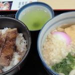 oshokujidokoroyamayoshi - 但馬牛丼&ミニうどんセット