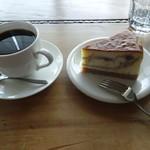 ククム - コーヒー チーズケーキ