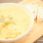 ココモモアンドコー - 本日のスープ(この日はブロッコリースープでした)あっさりしていて、味が深いです。
