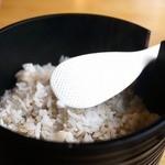 山薬 - 麦飯