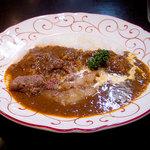 ぼんじゅーる - ライスカレー すじ肉いり