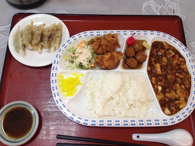 開華園 - ビジネスランチ 麻婆豆腐 850円