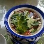38778507 - 牛モツの酸辛スープ(900円)