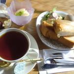 カオリカフェ - 料理写真:モーニング 500円