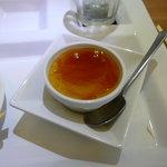 和パスタ煙草屋(禁煙) - ほうじ茶のクリームブリュレ、これ、おいしかったです。