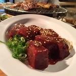 だるま食堂 - レバー焼き¥450
