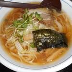 青竹打ちラーメン 一力 - 醬油ラーメン 750円