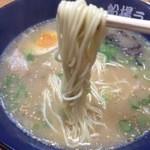 船場ラーメン - 細麺