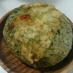 38781404 - ほうれん草チーズベーグル
