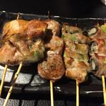 焼鳥 Ryoma - 肉巻き盛り合わせ